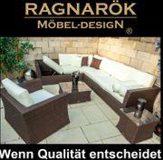 Ragnarök-Möbeldesign PolyRattan - DEUTSCHE Marke - EIGNENE Produktion