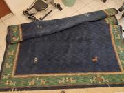 Echt Wolle Orient Teppich Indo