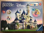 3D-Puzzle Disney Schloss Originalverpackt