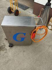 Dampferzeuger Reihenfüller Schichtenfilter für WEINBAU