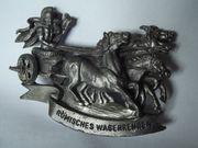 Römischer-Streitwagen im Galopp Eisen-Zinn