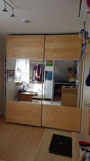 Ikea PAX Kleiderschrank Spiegel Schiebetüren