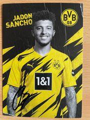 Autogramm Jadon Sancho