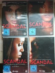 DVDs Scandal Staffeln 1-4