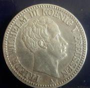 Münze Preußen König Friedrich Wilhelm