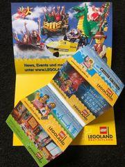 Legoland Günzburg 4 Tickets alle