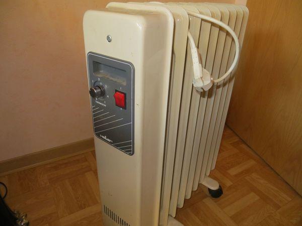 Elektroheizgerät Heizradiator