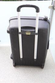 Koffer Trolley Samsonite schwarz Hartschale