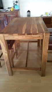 Tisch mit Barhocker Thekentisch