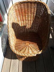 Stroh Korb Sessel Kinder