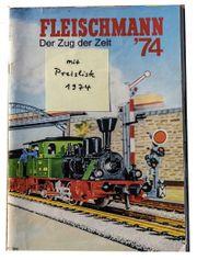 H0 FLEISCHMANN 3 Kataloge Eisenbahnen