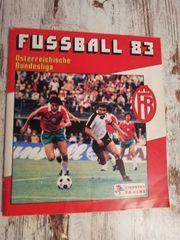 Panini Fussball 83 Österreichische Bundesliga