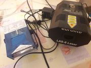 Eurolite Laser Las-6 und Strobo