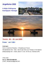Angelferien Norwegen 2020