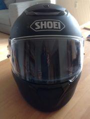 Motorradhelm Shoei QWest mattschwarz Gr
