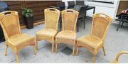 Rattan Stühle zu verkaufen