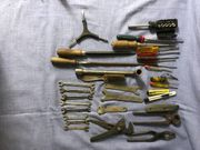 Konvolut Werkzeug Schlüssel Schraubenzieher Messer