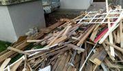 Diverses Holz unbehandelt für Projekte