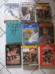 8 Bücher Olympia Sport World