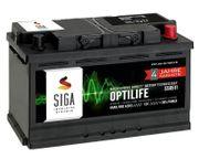 SIGA OPTILIFE Autobatterie 12V 85Ah