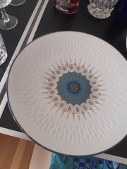 Dekorative Porzellanteller