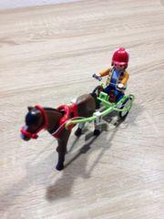 Playmobil Traber mit Pferd