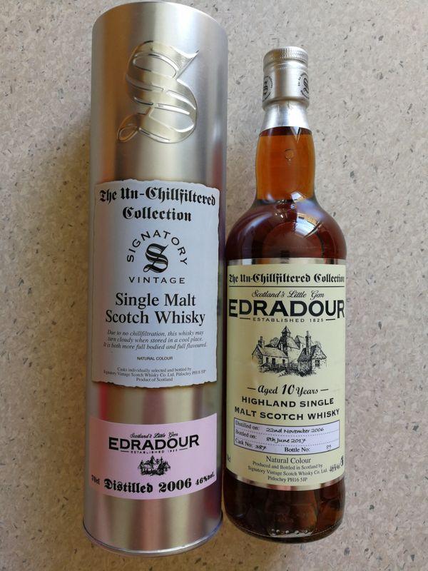 Whisky EDRADOUR 10Y