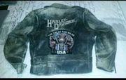 Harley Davidson Lederjacke Hawg