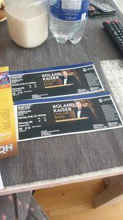 2 Roland Kaiser Tickets für