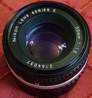Spiegelreflexkamera Nikon m Objektiv Kamera
