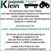 Mechaniker für Land- und Baumaschinentechnik