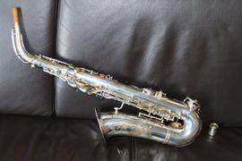 Beaugnier Alt Saxophon 1955 versilbert: Kleinanzeigen aus Berlin Friedrichshain - Rubrik Blasinstrumente