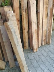 30 St Holzbalken versch Längen