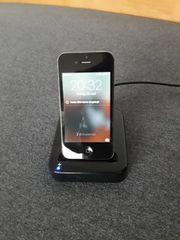 I-Phone 3 mit Ladeschale mit