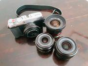 Fujifilm X-E3 mit 4 Objektiven