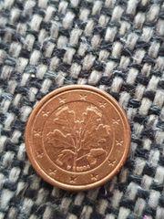 2Euro cent mit Fähler