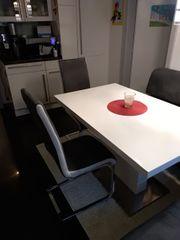 Eckbank 2 Stühle Tisch - gebraucht