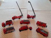 Wiking Konvolut Feuerwehr - 8 Fahrzeuge -