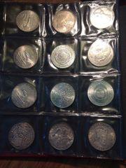 Album Silbermünzen Österreich - 50 25