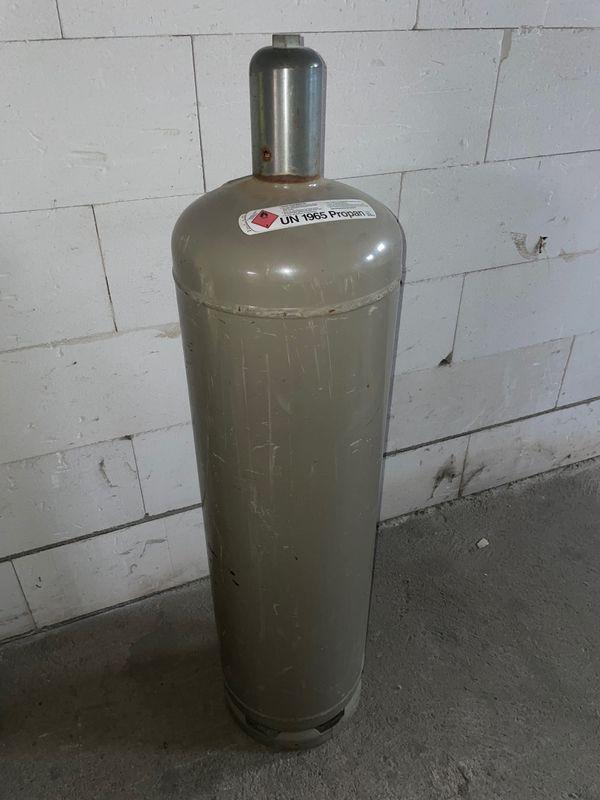 Gasflasche Leergut 33kg Propangasflasche