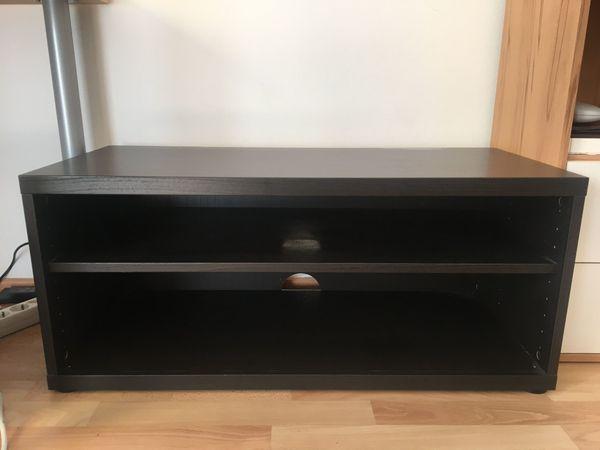 TV-Schrank Lowboard schwarz