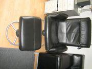 Malung Sessel mit Hocker