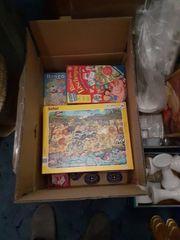 Zwei Kisten Spiele Puzzle Lernspiele