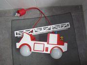 Feuerwehr Lampe Kinderzimmer Holz