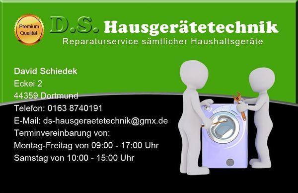 Hausgeräte reparatur für Waschmaschinen Trockner