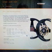 ADymag CH3 Hinterrad aus Magnesium-Guss