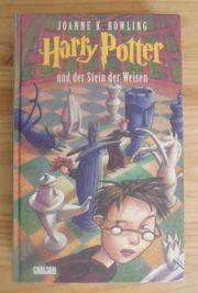 Harry Potter Buch Stein der