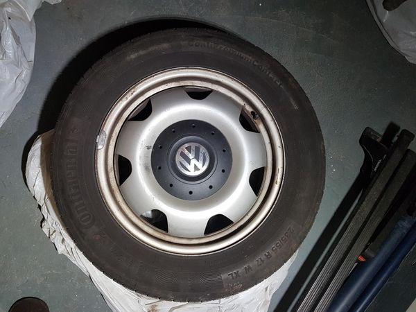 VW T5 Räder mit Sommerreifen
