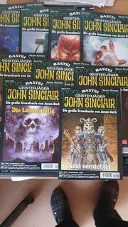 John Sinclair Romane nr1-1100 fortlaufend