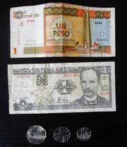Münzen und Banknoten Kuba Jose